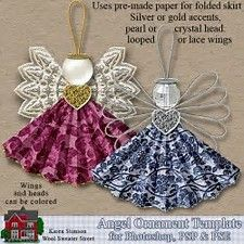 Image result for fab lab angel ornaments