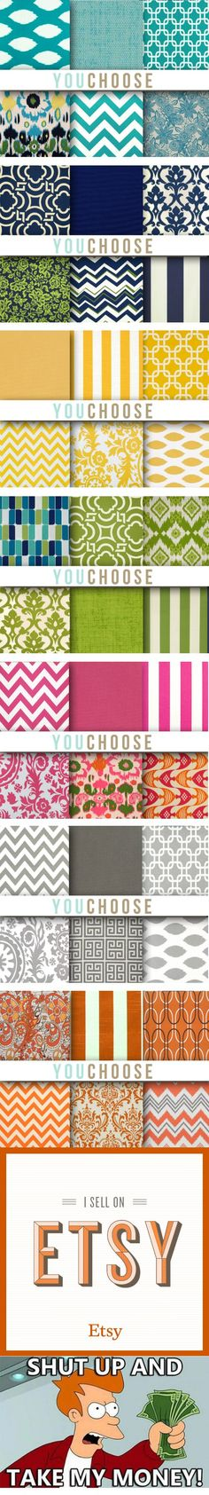 SO many colors I could die!!! Best collections of pillow cases. #DIY #HomeDecor #pillow