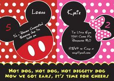 Boy Girl Twin Birthday Theme | First Comes Love Then Comes Paper Blog - The Paper Diaries