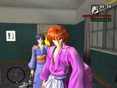 Oh My God! GTA version of Rurouni Kenshin! I ♥ this!