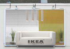 IKEA Sofa Billboard }-> repinned by www.BlickeDeeler.de