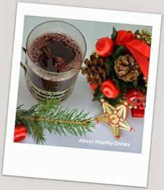 Glögi (Finnish Mulled wine) with alcohol
