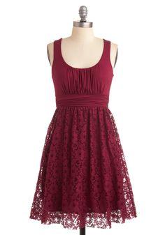 Artisan Iced Tea Dress in Raspberry, @ModCloth