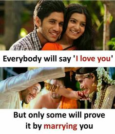 Everybody will say l love you But only some will prove it by marrying you - Daily LOL Pics Crazy Girl Quotes, Real Life Quotes, Bff Quotes, Reality Quotes, Girly Quotes, Crush Quotes, Attitude Quotes, Movie Quotes, Friendship Quotes