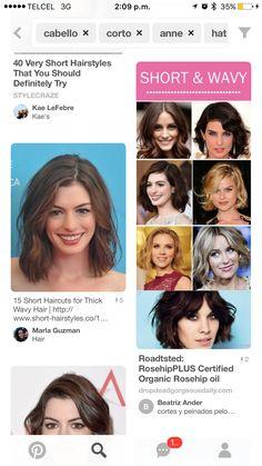 Very Short Hair, Short Wavy, Short Hair Cuts, Short Hair Styles, Soft Hair, Wavy Hair, Organic Rosehip Oil, Hair, Bob Styles