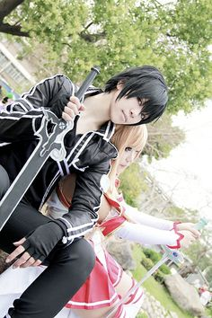 Sword Art Online (Cosplay) (Asuna Yuki  and  Kazuto Kirigaya)