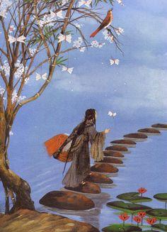 Illustration from Fleur de Cendre (2006) - Anne Romby
