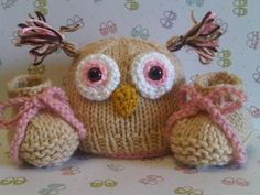On Sale Baby Girl Lil Who Baby Owl Hat Beanie by ForStitchesSake, $24.00