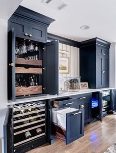Basement bar/kitchenette