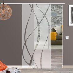 Soft Stop Glasschiebetür Glas Schiebetür 775/900/1025x2050mm o.2175mm M6 in Heimwerker, Fenster, Türen & Treppen, Türen | eBay!