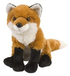 Cuddlekins Red Fox (12-inch) at theBIGzoo.com, a family-owned gift shop with 12,000+ animal-themed items.