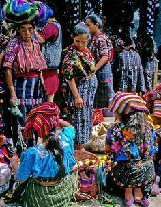 los mercados de Guatemala