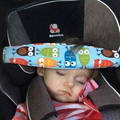 comprar Bady dormir cabeza soporte reposacabezas del asiento de coche  ajustable Niño Seguridad cinturón silla cabeza 8dfc65961ea