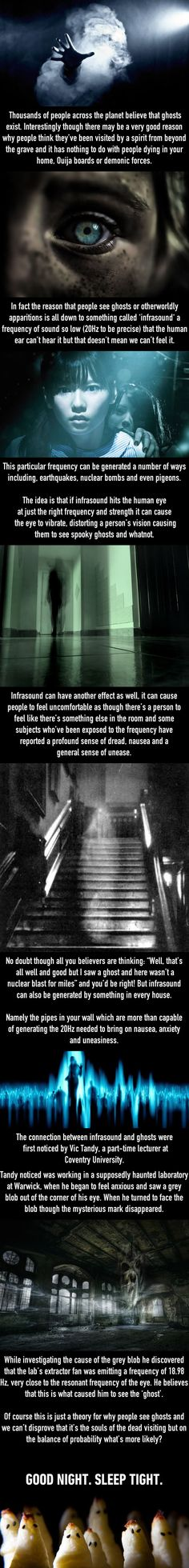 Scientists Vic Tandy At Coventry University May Have Found An Explanation For Ghosts