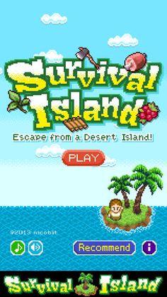 Votre but est de vous echapper d'une île déserte en résolvant les problèmes qui vous sont posés, le tout dans un style retro pixel art.  Côté jardin Pixel Art, Desert Island, Style Retro, Free Games, Problem Solving, Survival Island, Finding Yourself, Applications, Explore
