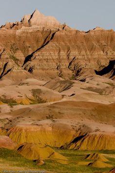 Badlands, South Dakota. Rondreis USA 2009: Colorado - South Dakota - Wyoming - Utah - Colorado - Orlando