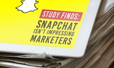 A recent survey found that marketers are not generating the results they want from Snapchat. Here are some key reason why that could be.