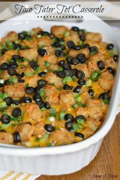 "Taco Tater Tot® Casserole ""Weeknight Easy"""