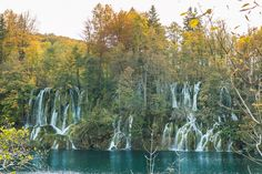 37 Photos Of The World's Most Beautiful Waterfalls: Plitvice Lakes National Park, Croatia