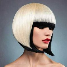 Bob haircuts are kinda amazing.but do you know the difference between a graduated bob, a-line haircut, and the other types of bobs? Cute Bob Haircuts, Asymmetrical Bob Haircuts, Stacked Bob Hairstyles, Bob Haircuts For Women, Hairstyles With Bangs, A Line Haircut, Bob Haircut With Bangs, Short Hair With Bangs, Short Hair Styles