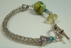 February 23, 2013, 2-5pm Viking Knit Bracelet class at Funky Hannah's, Racine, WI