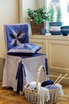 Zobacz jak uszyć trzy oryginalne nakrycia na krzesła. http://zrobiszsam.muratordom.pl/dekoracje/w-domu/jak-uszyc-pokrowce-na-krzesla-trzy-oryginalne-nakrycia-zrobisz-sam,12_161.html