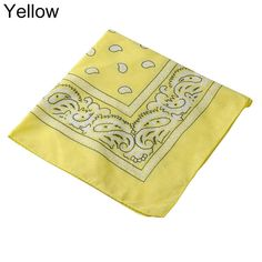 Fashion Paisley Square Bandana Head Wrap Cotton Unisex Hiphop Scarf Neck Mask – Yellow Specifications:This scarf is very pretty and fashionable.This scarf is multi-functional, you can use it as head scarf or wristband.Highlight you from the crowd. Type: BandanaMaterial: CottonGender: UnisexShape: SquareSeasons: Spring, Summer, AutumnFeatures: Fashion, Head Accessories, Comfortable, Head Face Wear, Warm Keeper, Paisley … Fashion Paisley Square Bandana Head Wrap Cotton Unisex Hipho&#82