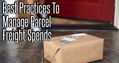 [E-Book] Best Practices to Manage Large Parcel Freight Spends