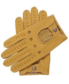 Men's Handsewn Deerskin Driving Gloves