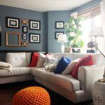 Fall Living Room Final Reveal