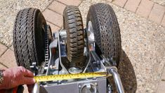 This trailer dolly is built using parts available at Princess Auto (in Canada) and probably Harbour Freight in the US. Parts list: 2000 lb ATV winch 16 tooth drive gear 54 tooth driven gear… Atv Winch, Trailer Dolly, Power Trailer, Work Trailer, Moving Trailers, Dump Trailers, Camping Trailers, Cargo Trailer Camper, Camper Trailers