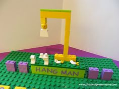 Fun With Legos: DIY Lego Hangman