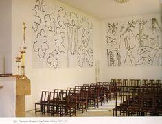 Chapelle du Rosaire de Vence décorée par Matisse http://www.vogue.fr/mode/inspirations/diaporama/le-moodboard-de-christophe-lemaire/11248/image/660079#chapelle-du-rosaire-de-vence-decoree-par-matisse