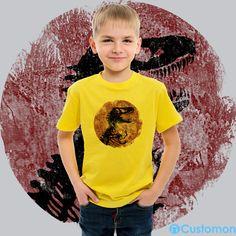 8c325e69 jurassic park vintage Toddler T-shirt Designer by #jun 🆒 - #jurassic #.  Customon