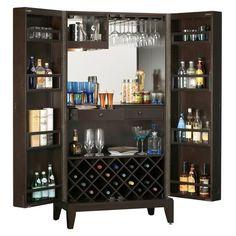 Howard Miller Barolo Wine & Bar Cabinet 695-154 - Home Bars USA - 1