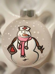 Nurse Ornament Rn Ornament Cna Ornament Lpn Ornament Personalized Ornament Personalized
