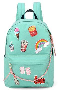 Our little girl clothing & newborn outfits are definitely cute. Girly Backpacks, Cute Backpacks For School, Cute Mini Backpacks, Stylish Backpacks, Backpack With Pins, Backpack Bags, Mini Mochila, Girls Bags, Cute Bags