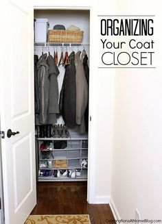 Tips for Organizing Your Coat Closet + $100 Walmart GC Giveaway! #bhgLiveBetter