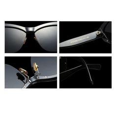 6c0e94fc78721 Fuyingda Cateye Sunglasses for Women Vintage Retro Cat Eye Half Rimmed  glasses  gt  gt