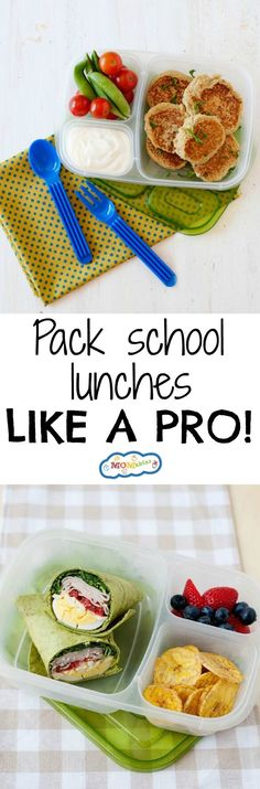 Learn how to pack healthy school lunches that your kids will love!