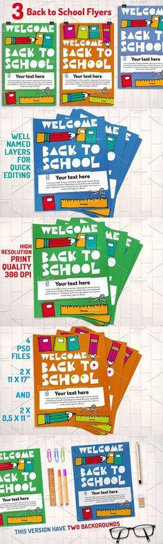 Junior School Promotion Flyers By Satgur Design Studio On