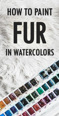 Video: How To Paint Fur with Watercolors (video) – When painting fur, it's important to think in terms of layers. Take a look at Susan Bourdet's demonstration—as you'll see, she adds at least three layers of paint to get the desired texture. Watercolor Paintings For Beginners, Watercolor Video, Watercolor Projects, Watercolour Tutorials, Watercolor Techniques, Kids Watercolor, Watercolor Art Paintings, Watercolor Artists, Oil Paintings