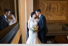 Red, Pink, Burgundy, Marsala, grey wedding at  Saint Mary's Church in Los Angeles and The Ebell Club, Long Beach, CA @ebelloflb