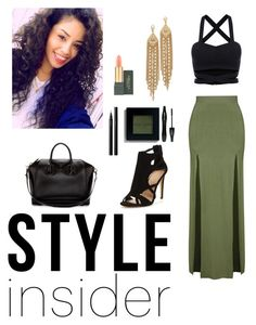 """""""style insider"""" by bombstyler on Polyvore featuring Topshop, Givenchy, Capwell + Co, Bobbi Brown Cosmetics, MAC Cosmetics, SUQQU, Lancôme, contestentry, laceupsandals and PVStyleInsiderContest"""