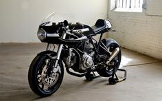 """combustible-contraptions: """" Ducati Cafe 