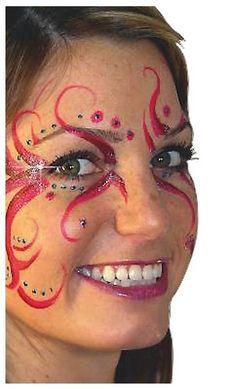 fancy eye face paint