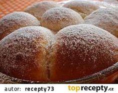 Kynuté buchty z bramborového těsta recept - TopRecepty.cz Hamburger, Bread, Food, Hamburgers, Breads, Hoods, Meals, Bakeries, Burgers