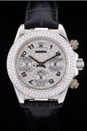 Rolex Daytona Lady Back: Stainless steel snap-in back with Rolex engravings Gender: Women
