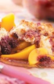 Love this recipe! Make it all the time using fresh (or frozen) fruit!