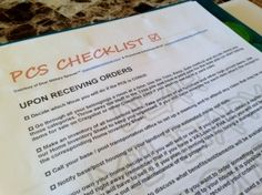 PCS Binder PCS Checklist -- This would work great for anything! Airforce Wife, Military Spouse, Oconus Pcs, Pcs Binder, Navy Life, Moving Tips, Inevitable, Stress, Free Downloads